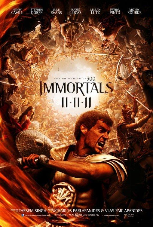Foto de 'Immortals', últimos carteles del film de Tarsem (4/5)