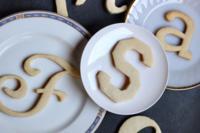 Cómo hacer galletas con forma de letra