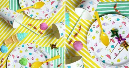 Dale alegría a tus picnics y comidas de verano con estas vajillas desechables