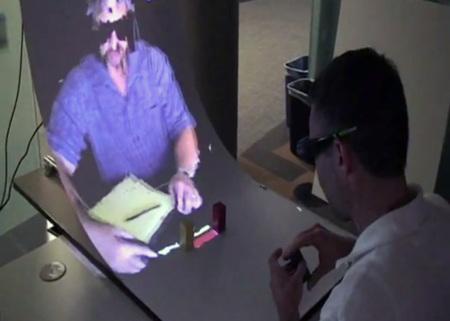 Microsoft Mirage Table, realidad aumentada de la mano de Kinect