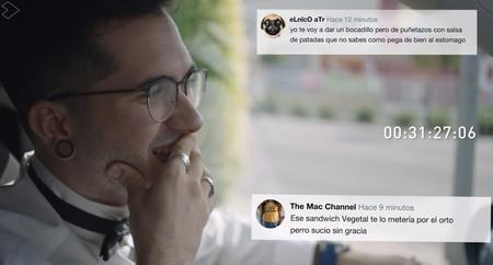 Primeras reacciones tras el estreno de 'Vosotros sois mi película' en Flooxer