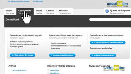 tugestiONline, servicio de contabilidad, fiscal y laboral bajo modelo SaaS