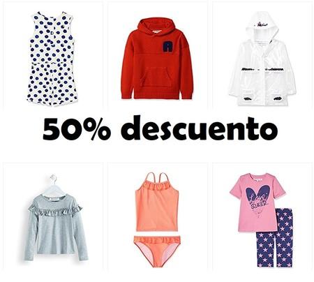 50% de descuento en ropa Red Wagon para niños en esta promoción de Amazon