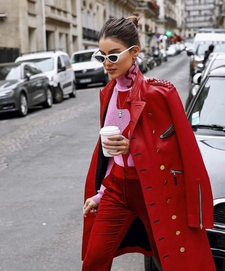 Combinar Abrigo Rojo 05