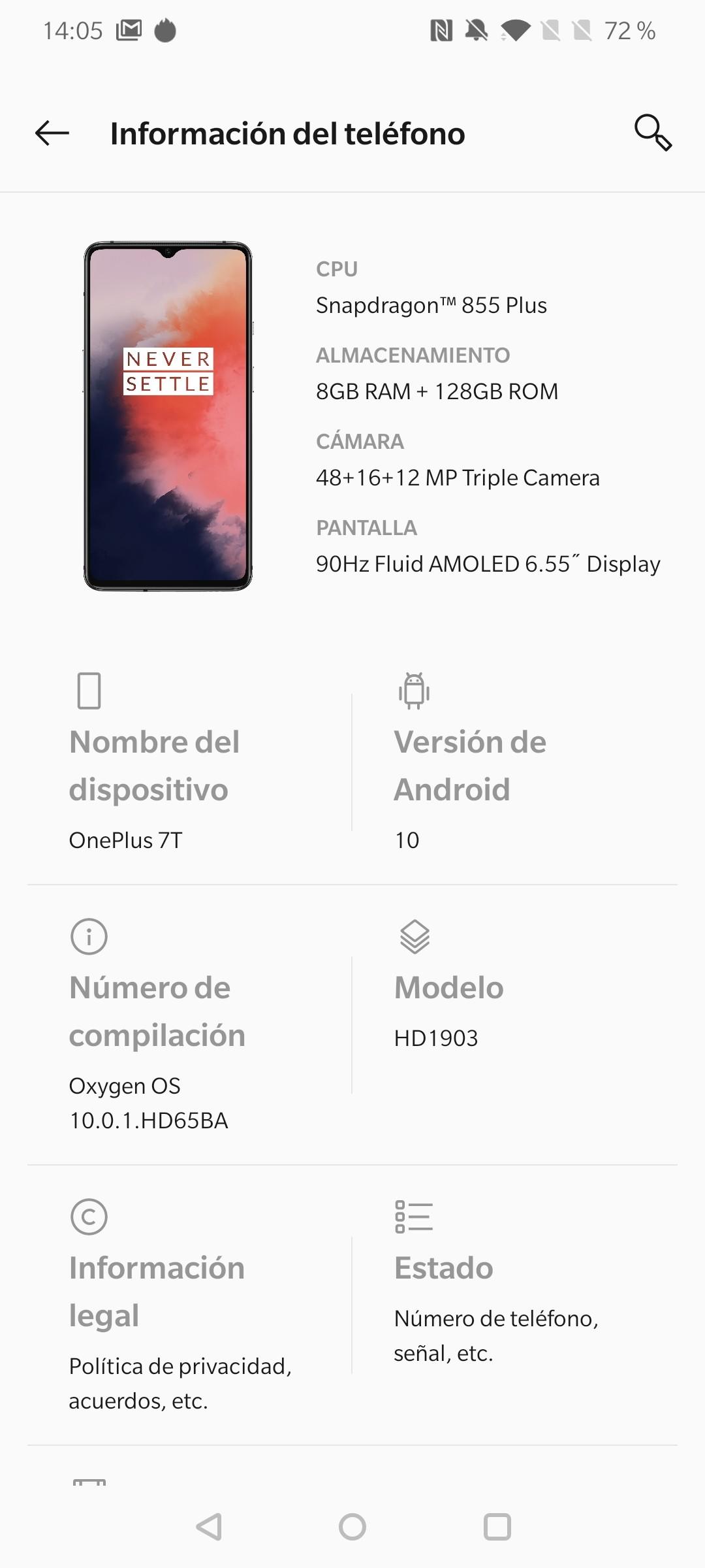 Foto de Android 10 en el OnePlus 7T (4/15)