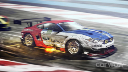 Ford Mustang - Ford LM GTE PRO (2016)