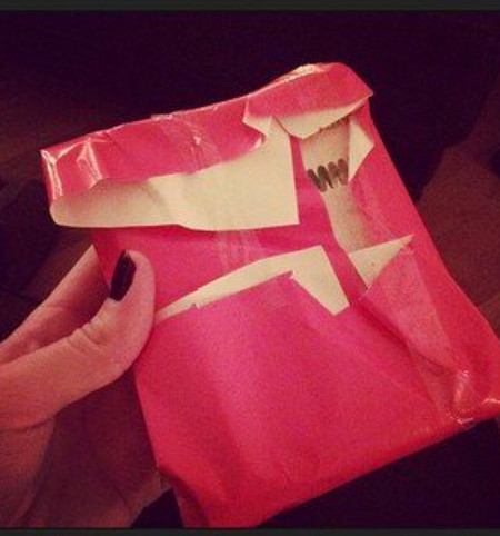 Bad Wrapping Pink Mess