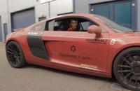 Video: captan a Iron Man conduciendo su Audi R8