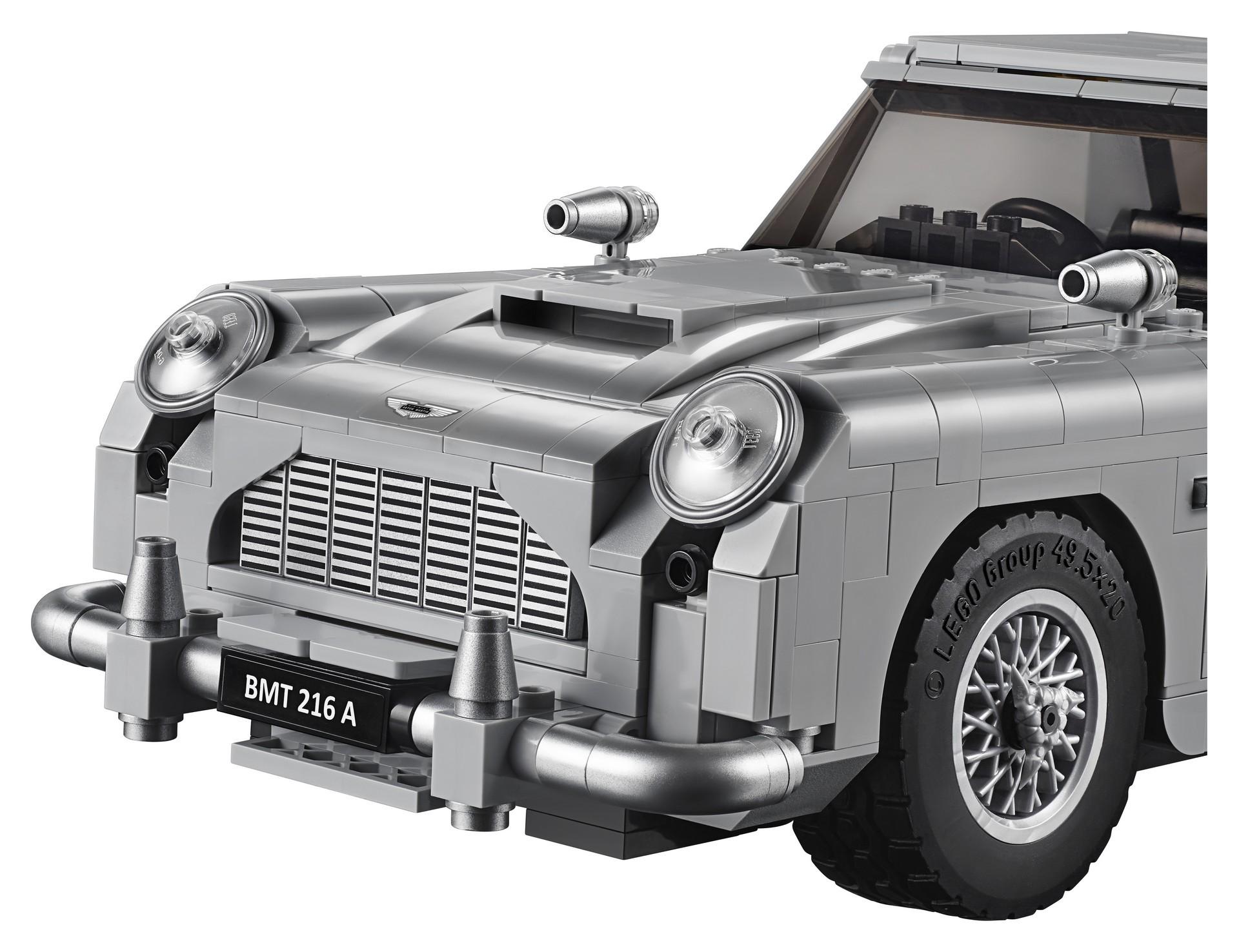 Foto de Aston Martin DB5 007 de LEGO (16/39)