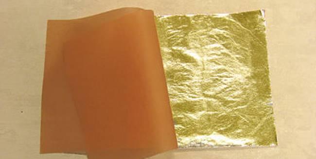 cuadernillo de pan de oro