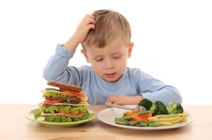 Los alimentos como premio o castigo
