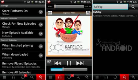 Pocket Casts para escuchar y ver podcasts