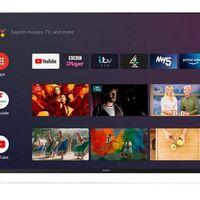 Sharp anuncia sus nuevos televisores: económicos y con Android TV, son 4K y llevan altavoces Harman Kardon