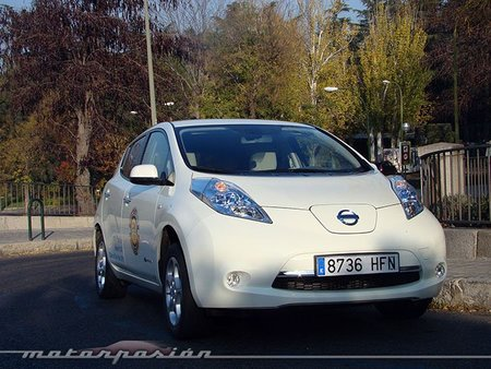 Nissan Leaf, prueba (exterior e interior)
