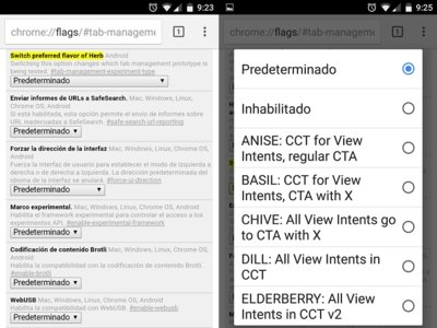 Chrome para Android estrena las Custom Tabs v2