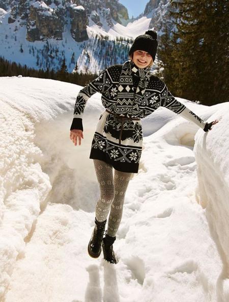 Afronta el frío con prendas de arriba monas