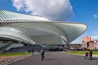 La nueva estación de Guillemins, en Lieja