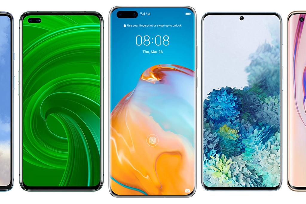 Huawei P40 y P40 Pro, comparativa: de este modo quedan frente a Galaxy™ S20, Xiaomi Mi 10, Realme X50 Pro y resto de grado adhesión Android