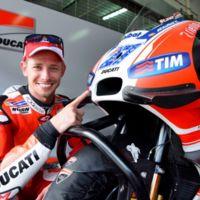 Casey Stoner no ha venido a pasearse sobre la Ducati de MotoGP