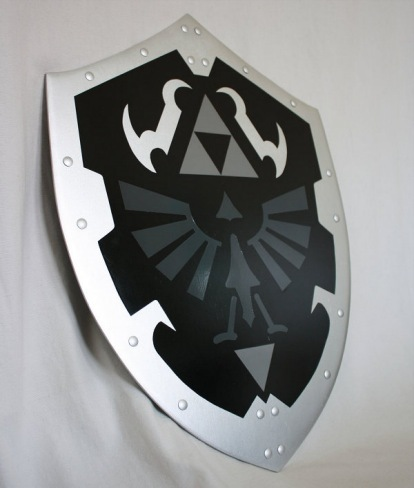 Un escudo de Zelda hecho real