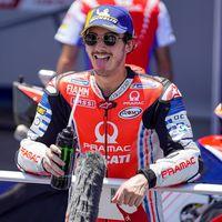 Pecco Bagnaia tiene una lesión en la rodilla, una fractura en la tibia y se perderá Brno y Austria