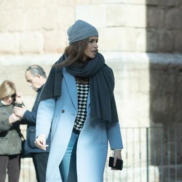 Fichamos las botas de Sara Carbonero como un  gran aliado contra el frío invierno