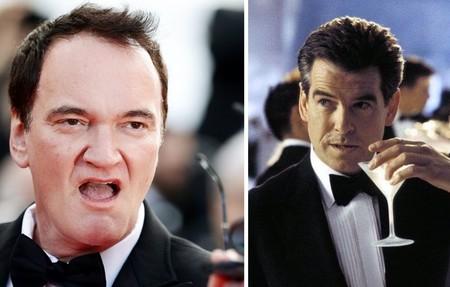 """¡Eres el mejor James Bond!"". Quentin Tarantino quiso dirigir a Pierce Brosnan en una película de 007"