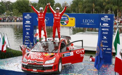 Prueba superada para Loeb y el C4 WRC