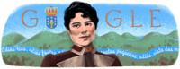 Google celebra el nacimiento de Rosalía de Castro