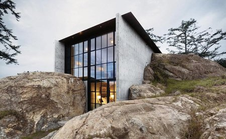 Casas que inspiran: una fortaleza entre las rocas