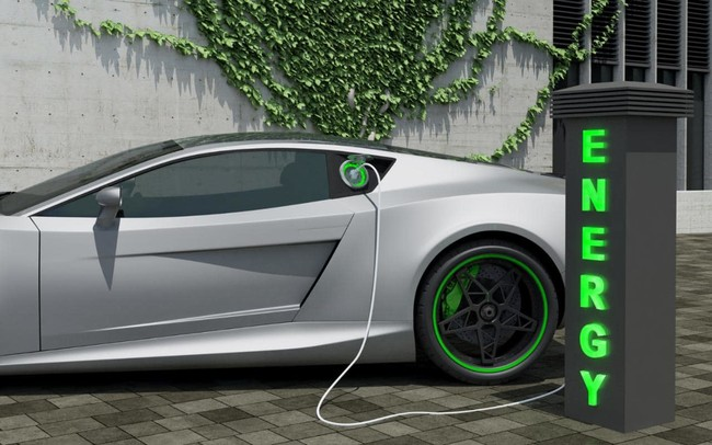 Electric Car Charging Xlarge