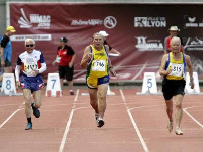 Los veteranos más veloces del mundo