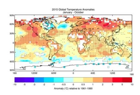 Anomalia Temperatura Ano 2015