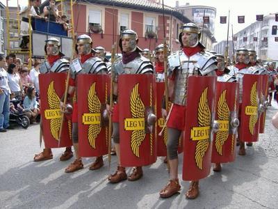 Cántabros versus romanos. Cada año se reviven las Guerras Cántabras en Corrales de Buelna