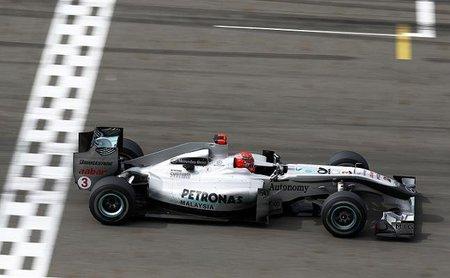 Mercedes GP sigue sin encontrar la clave del F-Duct