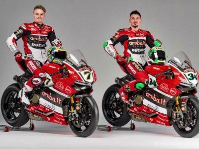 El equipo Aruba.it Racing Ducati presenta su candidatura para 2016