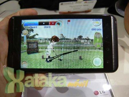 LG Optimus 3D, primeras impresiones
