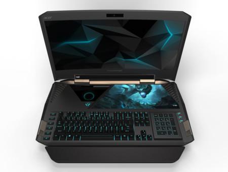 Este es el primer portátil gaming con pantalla curva: Acer Predator 21 X, un monstruo con 21 pulgadas