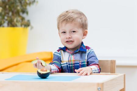 aguacate en la dieta de los niños