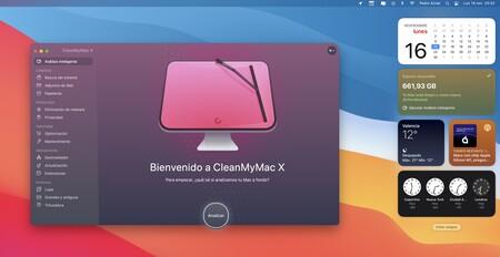 CleanMyMac X ya es compatible con macOS Big Sur, ahora con nuevo widget incluido