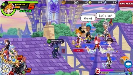 Kingdom Hearts: Union X se reestrena en los móviles de Europa con un nuevo modo multijugador