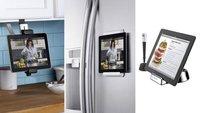 Tres interesantes soportes para cocinar con el iPad