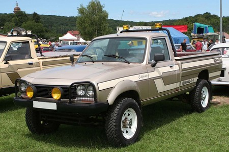 Peugeot 504 4x4 Dangel Pick-up