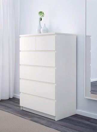 Malm Comoda De Cajones Blanco 0379931 Pe554973 S4