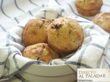 Muffins de arándanos. Receta