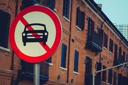 prohibición coches