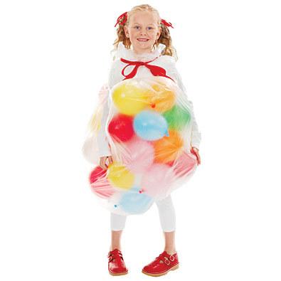 Disfraces caseros de Carnaval hechos con globos