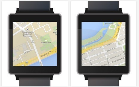 Androidwear Maps