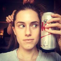 Allison Williams y su juego de maquillaje: ¿con qué cara te quedas?