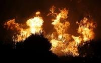 El paisaje de mi ruta favorita se quema